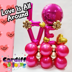 Valentines Day Balloon Displays From Cardiff Balloons