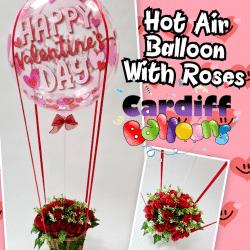Valentines Day Hot Air Balloon Design