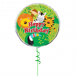 Happy Birthday Foil Balloon From Cardiff Balloons