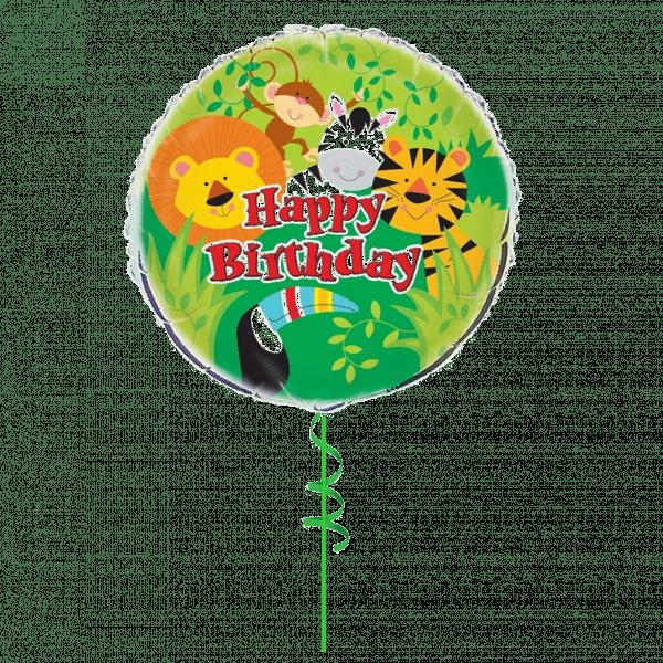 Happy Birthday Foil Balloon From Cardiff Balloons