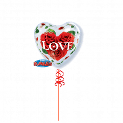 Valentines Day Bubble Balloon From Cardiff Balloons