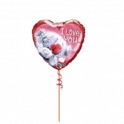 Tatty Ted Valentines Day Balloon From www.cardiffballoons.co.uk