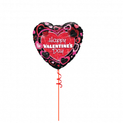Happy Valentines Day Foil Balloon From www.cardiffballoons.co.uk