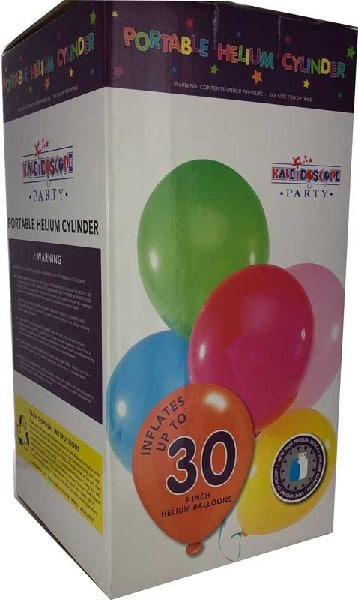 Small Disposable Helium Cylinder From Cardiff Balloons
