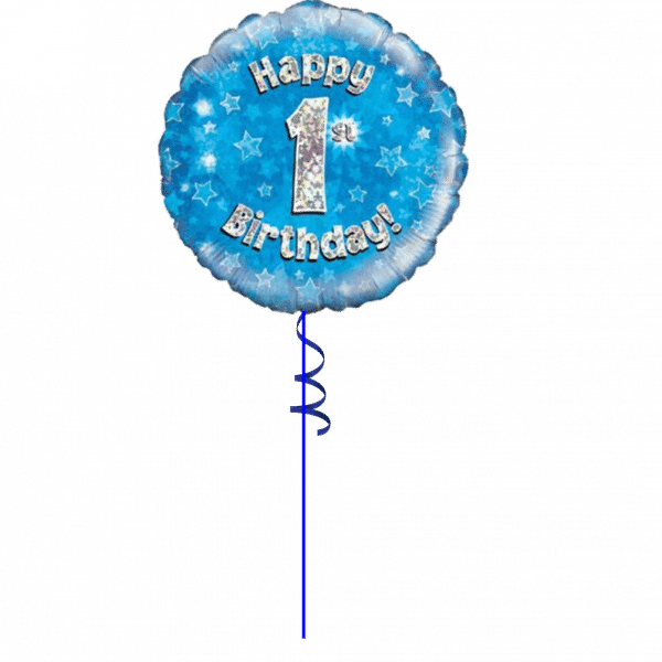 1st Birthday Balloon For A Boy From Cardiff Balloons