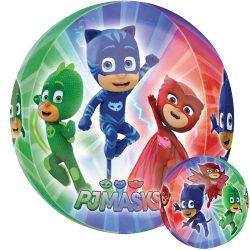 helium filled pj masks orb balloon from cardiff balloon