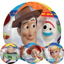 helium filled toy story 4 orbz balloon from cardiff balloons