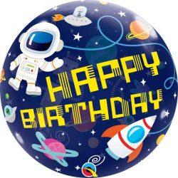 Astronaut Themed Bubble Balloon from Cardiff Balloons