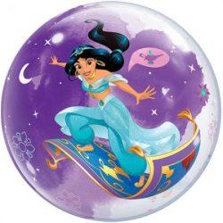 helium filled disneys jasmine bubble balloon from cardiff balloons