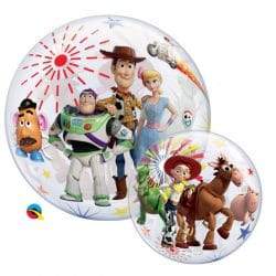 helium filled toy story bubble balloon from cardiff balloons