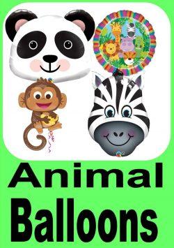 Animal Themed Balloons