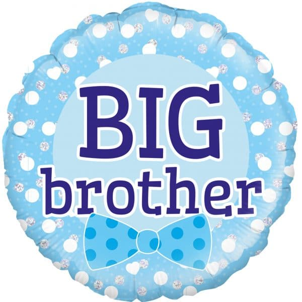 helium filled big brother foil balloon from cardiff balloons