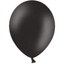 Black Latex Balloons From Cardiff Balloons