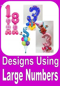 Designs Using Large Number Balloons