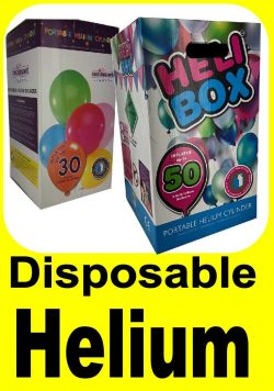 Disposable Helium Cylinders