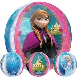 helium filled frozen orbz balloon from cardiff balloons