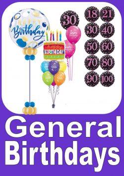 Any Age Birthday Balloons