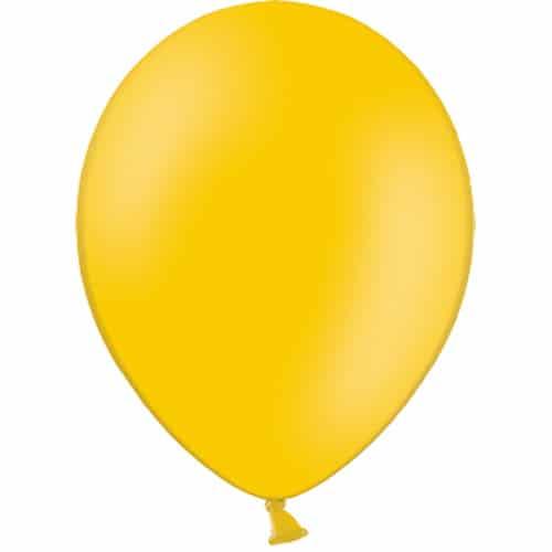 Ochre Latex Balloons From Cardiff Balloons