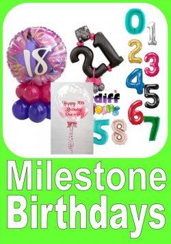 Milestone Birthday Designs