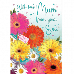Mothers Day Card From Your Son