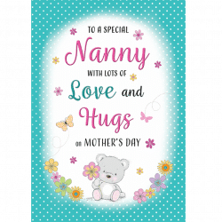 Mothers Day Nanny Card From Cardiff Balloons