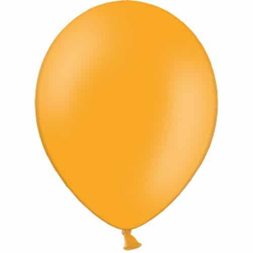 Orange Latex Balloons from Cardiff Balloons
