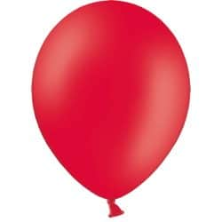 Red Latex Balloons From Cardiff Balloons
