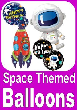 Space Themed Balloons