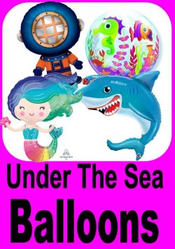 Under The Sea Themed Balloons
