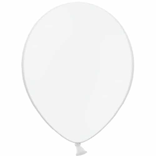 White Latex Balloons From Cardiff Balloons