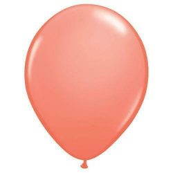 Coral Latex Balloons From Cardiff Balloons