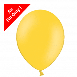 Yellow 5 inch latex balloons