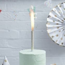 Gold Spotty Cake Fountains From Ginger Ray
