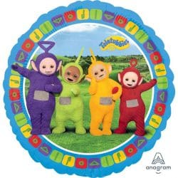 helium filled teletubbies foil balloon from cardiff balloons