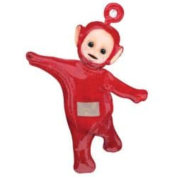 helium filled teletubby po foil balloon from cardiff balloons