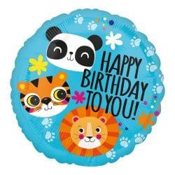 Happy Birthday Foil Balloon Helium Filled