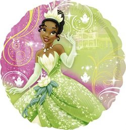 helium filled disney princess and the frog foil balloon from cardiff balloons