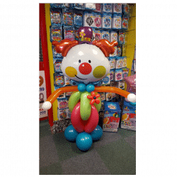 Billy The clown Balloon Design from Cardiff Balloons