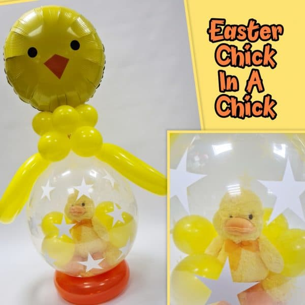 Stuffed Easter Chick Balloon