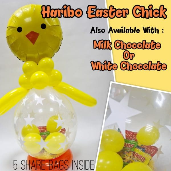 Easter Chick Balloon From Cardiff Balloons