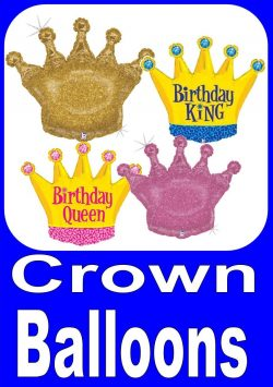 Crown Balloons