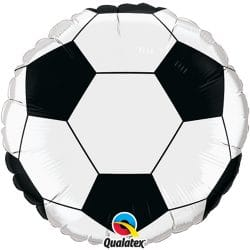 helium filled football foil balloon from cardiff balloons