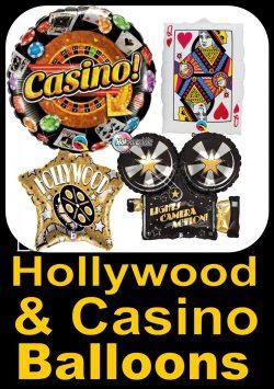 Hollywood & Casino Balloons