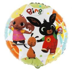 helium filled bing bunny foil balloon from cardiff balloons