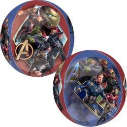 helium filled marvel avengers endgame orbz balloon from cardiff balloons