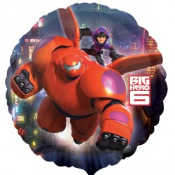 helium filled big hero 6 foil balloon from cardiff balloons