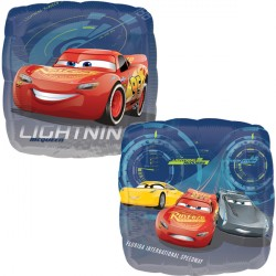 helium filled disney cars lightening mcqeen foil balloon from cardiff balloons