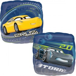 helium filled disney cars 3 foil balloon from cardiff balloons