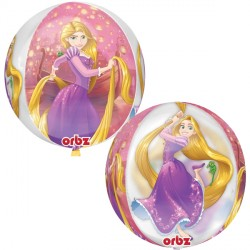 helium filled disney tangled orbz balloon from cardiff balloons