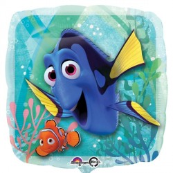 helium filled finding dory foil balloon from cardiff balloons